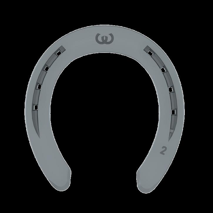 Warrior Vorderhufeisen mit Zehenkappe 8 mm