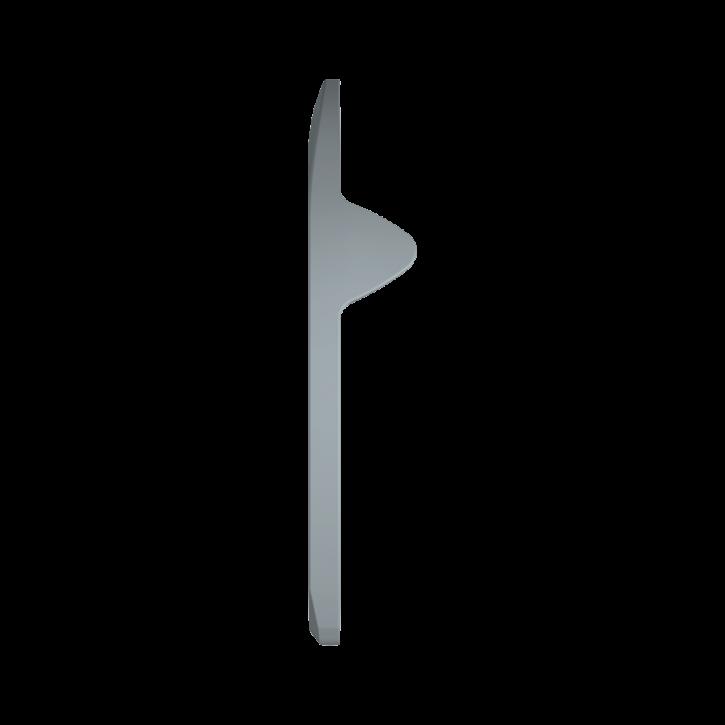 Warrior Vordereisen mit Seitenkappen 8 mm (2. - 3. Nagelloch)