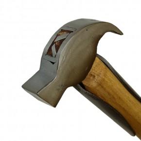 Hufbeschlaghammer mit Stahlfedern 350g