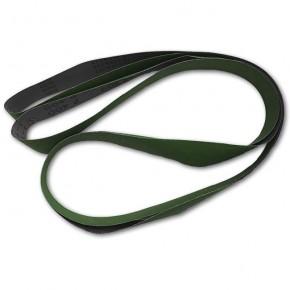 Schleifband grün für Luwex Schleifmaschine 2600 mm