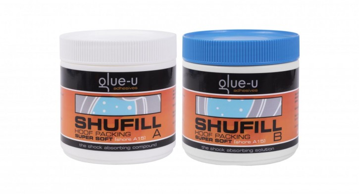 Hufpolster glue-u SHUFILL Blau A15 Super Soft