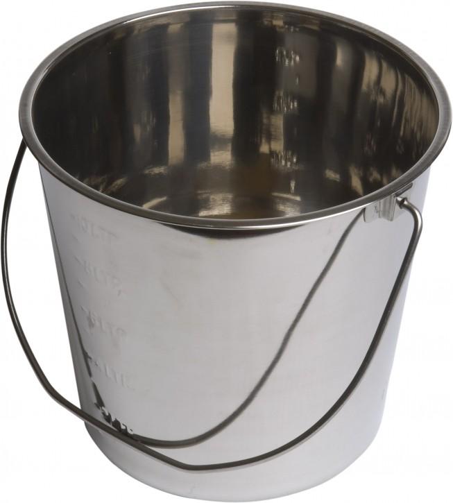 Eimer aus Edelstahl 12 Liter
