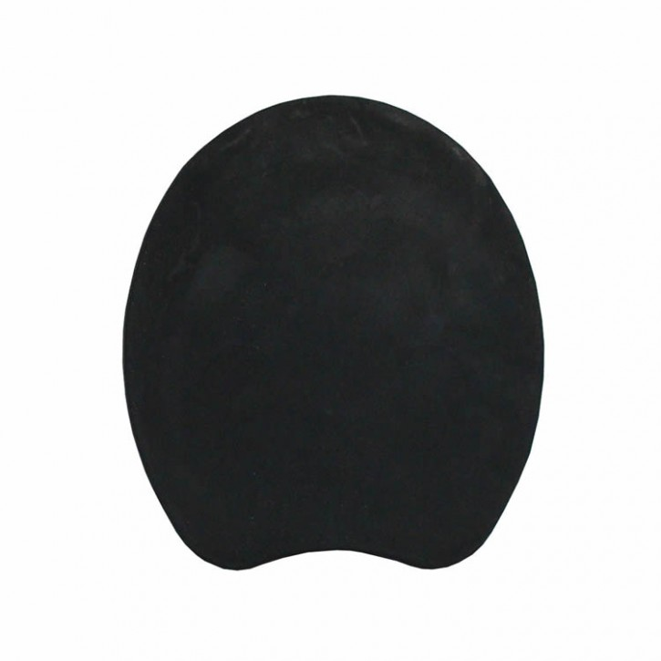 Kunststoffsohlen Kastor flach und weich 16 x16 cm