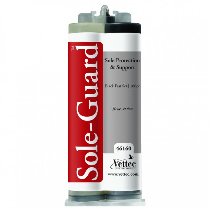 Vettec Sole Guard Hufpolster 160 ml schwarz
