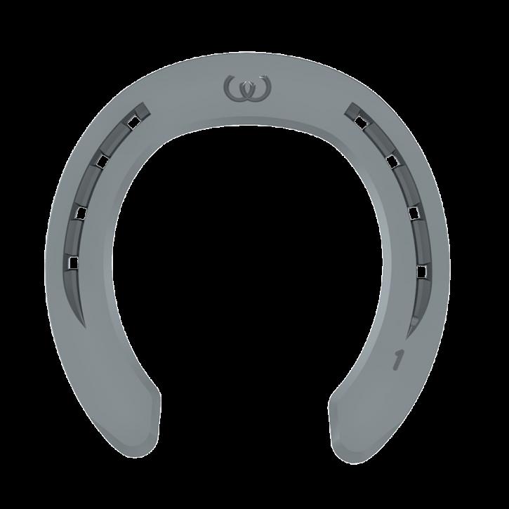 Warrior SPEZIAL Vorderhufeisen mit Seitenkappen 8 mm # 1 SK vorn