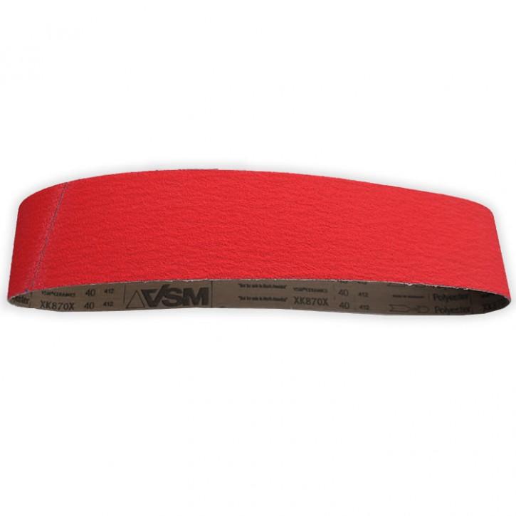 Schleifband Keramik K40 für Bandschleifer 1220x100 3M