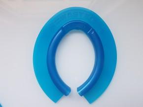 Antischneeeinlage Hufgrip WASTEO blau hinten